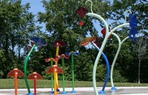Splash Playground Equipment 2