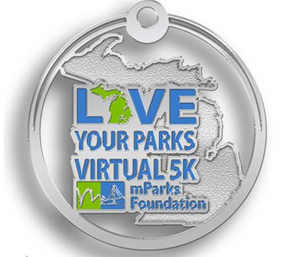 mParks Love Your Parks Virtual 5K Medal Graphic