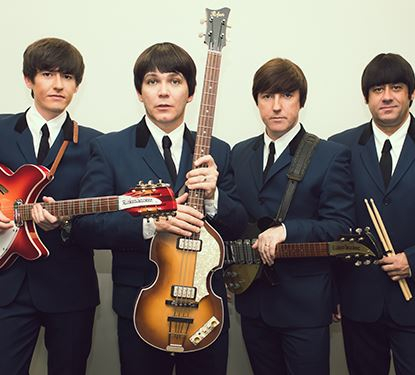 Photo of The Mersey Beatles featuring 4 musical artists with instruments