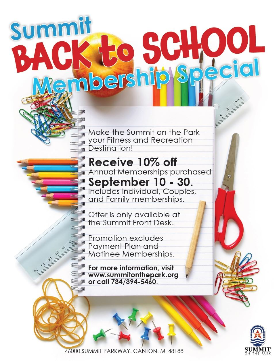 Back To School Special Flyer