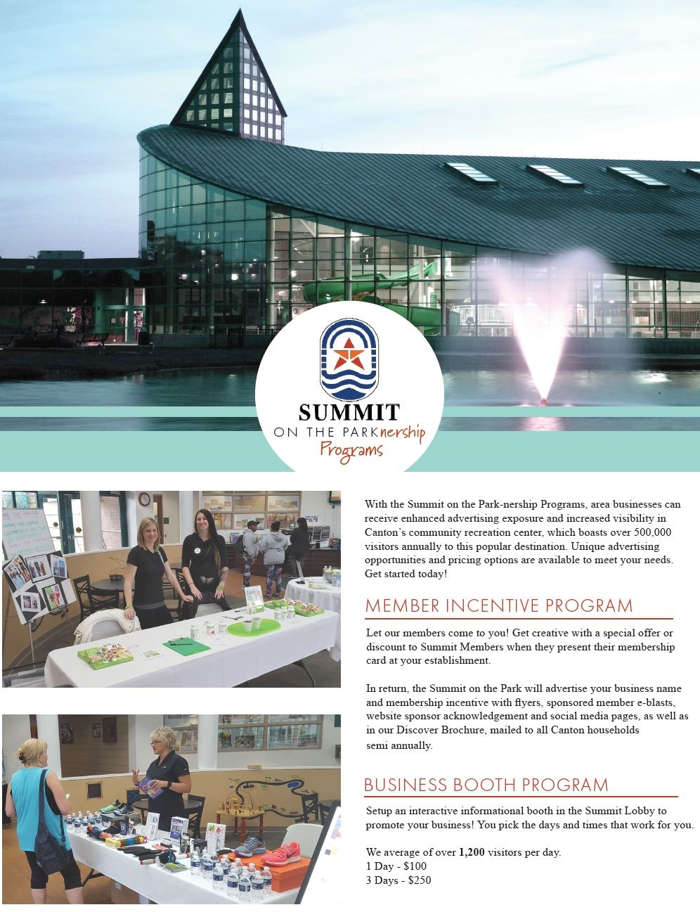Summit Parknership Flyer