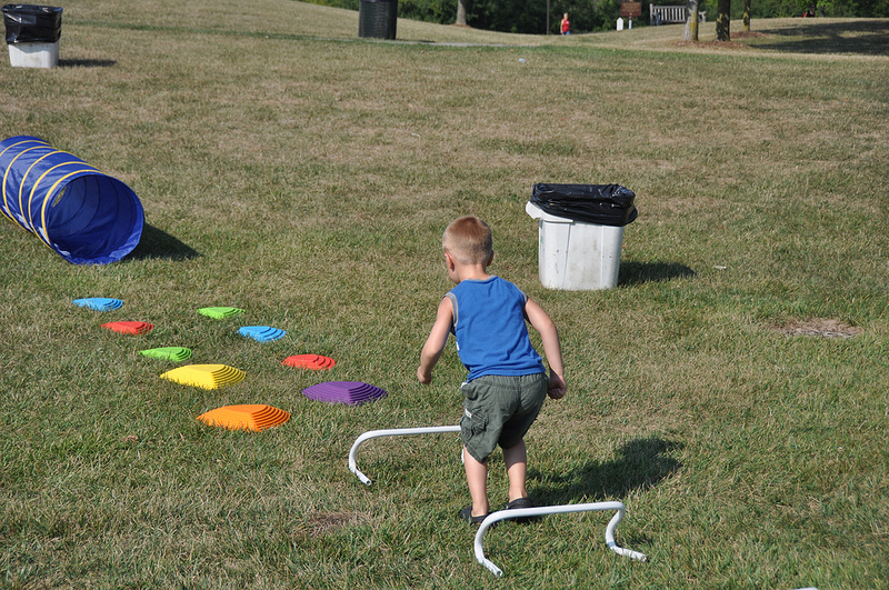 Tiny Tot Obstacle Course